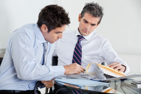 Businessmen Working In Office Stock Photo - 16487157