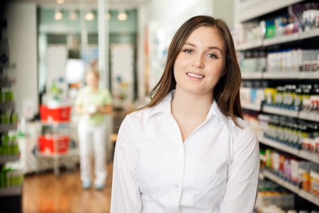 Beautiful Young Pharmacist Stock Photo - 16672668