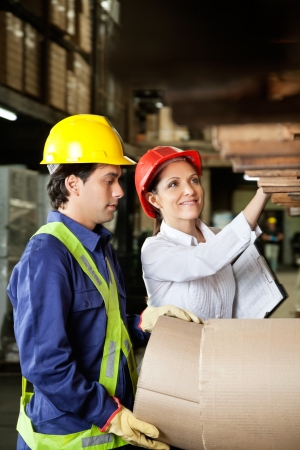 Supervisor And Foreman Checking Stock Stock Photo - 16715223