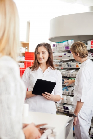 Pharmacist With Digital Tablet Stock Photo - 16715239