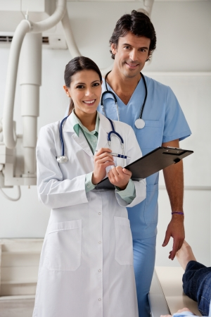 Multiethnic Medical Professionals Smiling photo