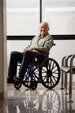 Happy Disabled Senior Man Stock Photo - 17100194