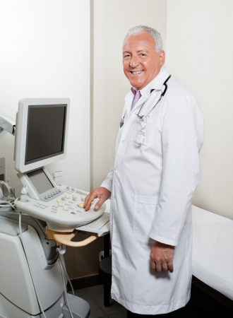 Male Radiologist At Clinic Stock Photo - 17167087