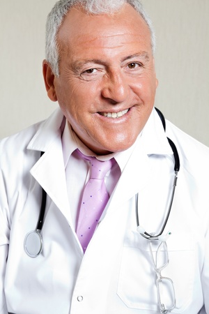 Male Doctor Smiling Stock Photo - 17213634