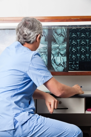 tomography: Medical Professional At Clinic
