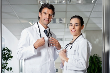 Medical Professionals Smiling Stock Photo - 17238656