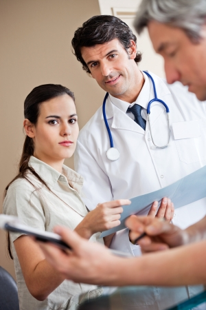 Medical Coworkers Standing Together Stock Photo - 17238673