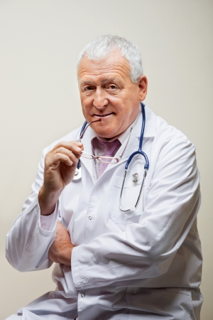 Senior Male Doctor Stock Photo - 17238664