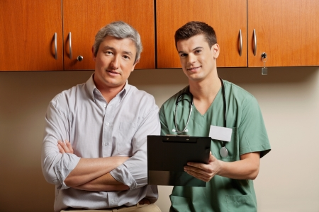Medical Resident with Doctor photo