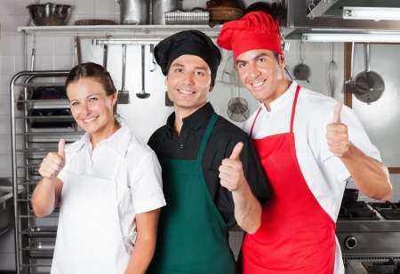 Chefs Giving Thumbs Up photo