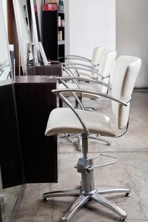 salon beaut�: Chaises dans le salon de cheveux