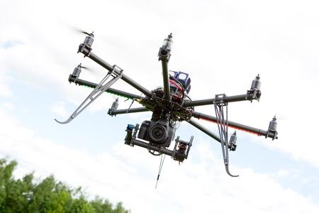 Multirotor Photography Helicopter Zdjęcie Seryjne