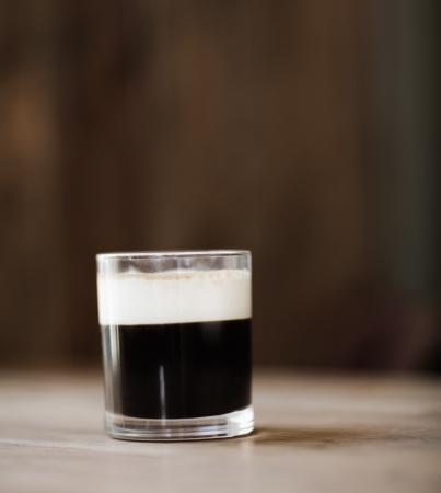 maria: Calypso Coffee in a rustic bar
