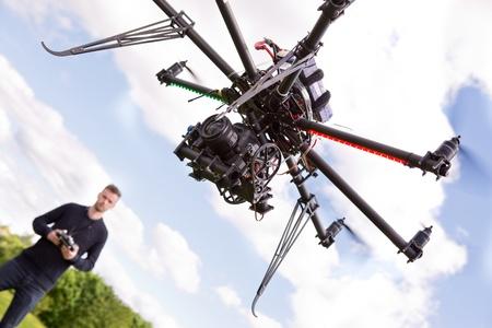 Photography UAV Stock Photo