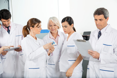 research facilities: Medical Team Working