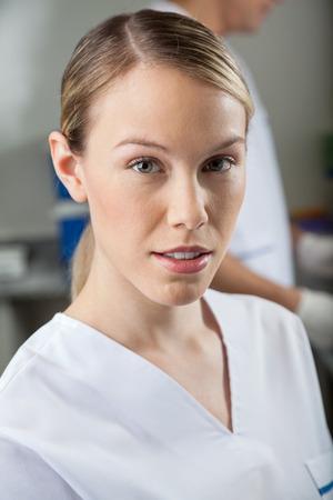 research facilities: Female Technician In Laboratory