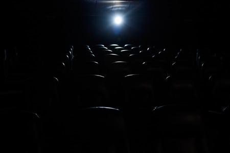 lightbeam: Empty Movie Theater