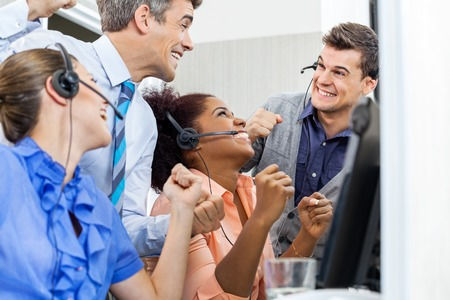 Call Center dipendenti celebra il successo
