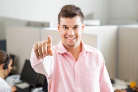 Chiamata Indicando dipendente centro Voi photo