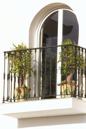 arcuate: finestra ad arco esterno di un edificio
