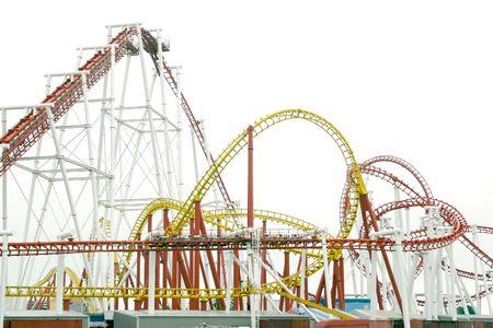 coaster: roller coaster ride