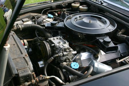6.5ltr engine details Stock Photo - 326024