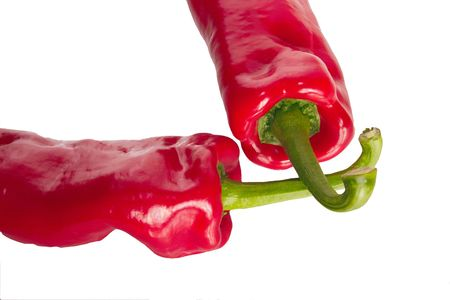 sumptious: chilli peppers with stalks crossed