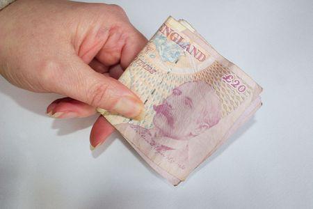 cash in hand