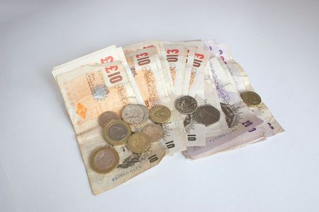 ten pound notes and change