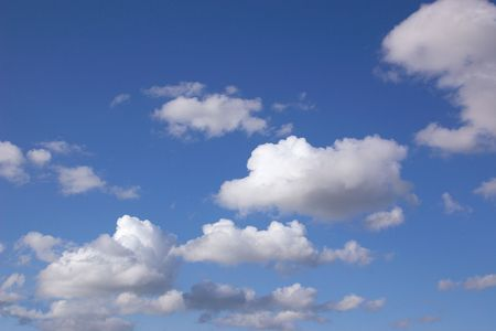 cottonwool: clouds in the sky