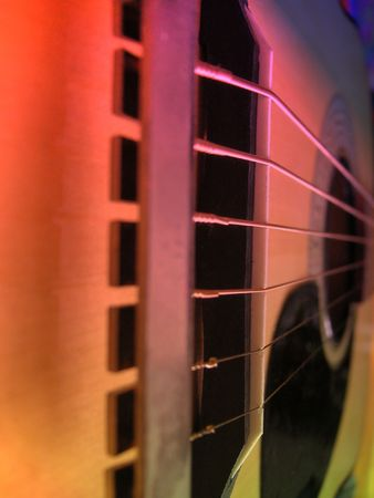 abstract image of a guitar photo
