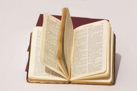 psalm book open