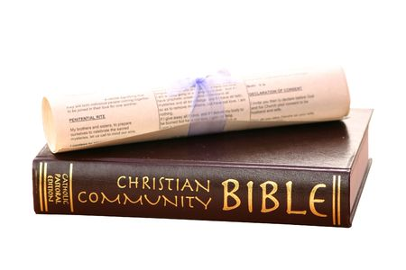 bible and scroll Stock Photo - 383347