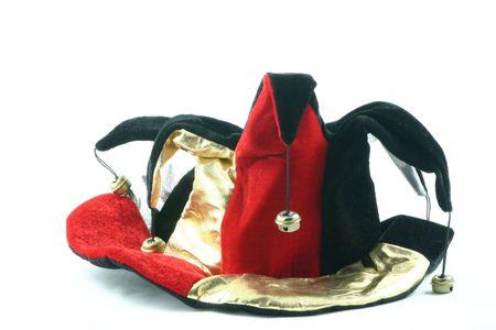 fun hat worn by a jester