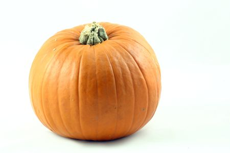 large pumpkin: whole large pumpkin Stock Photo