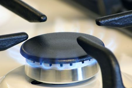small gas burner for a small pans photo