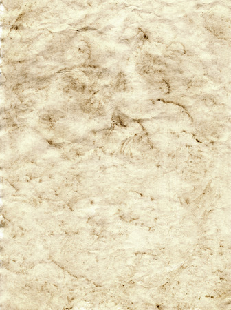 blotchy: sepia grunge background of paper which is blotchy Stock Photo