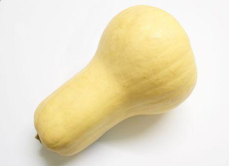 squash vegetable: butternut squash vegetable against a light background Stock Photo