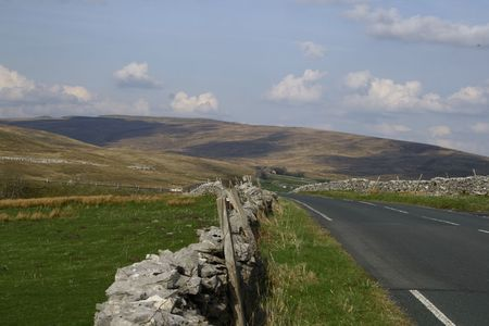 road in the yorkshire dales Stock Photo - 3405434