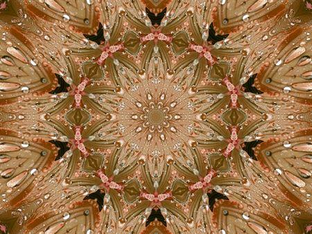kaleidascope: a kaleidoscope  background tile effect abstract illustration