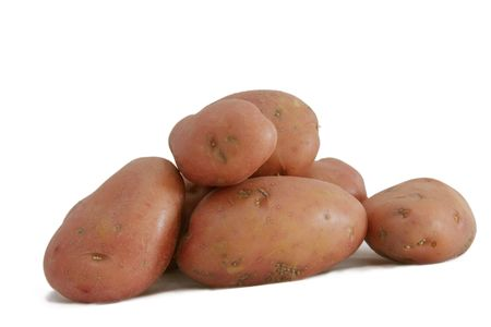 desiree a red skin potato  a very tasty root vegetable