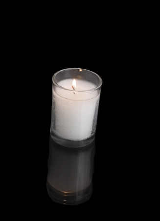 memorial candle: A custom in Judaism is to kindle a yahrzeit candle on the anniversary of the death of a loved one