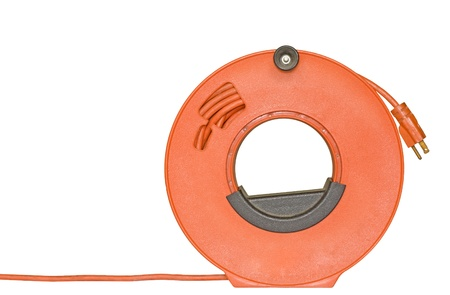 extension de cordon d'alimentation avec prise à 3 broches enroulé ... - Cable D Alimentation Electrique Pour Maison