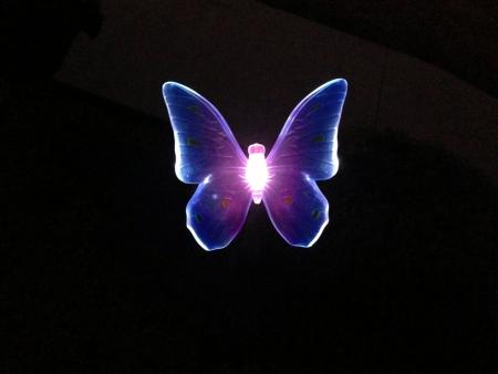 Mooie stralende licht Stockfoto