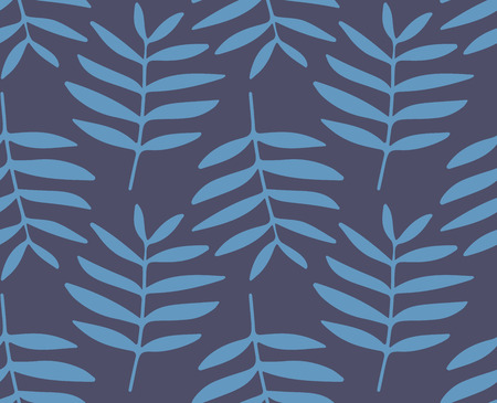 botanical vintage textile pattern in vector Фото со стока