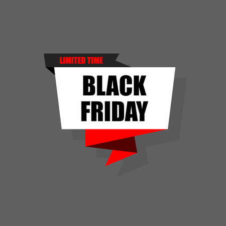 Black Friday sale label tag set. Limited time. Special offers. 20% off. Special offer price sign. Coupon offer. For art template design, list, page, mockup brochure style, banner, idea, cover, booklet