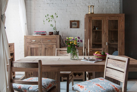 cozy dining room Editorial