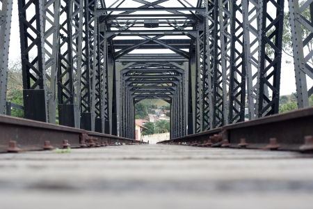 railroad bridge Stock Photo - 17035371