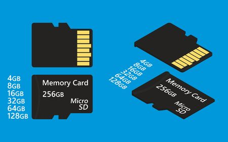 SD card simple colored