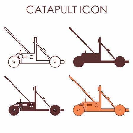 Catapult icon Vetores
